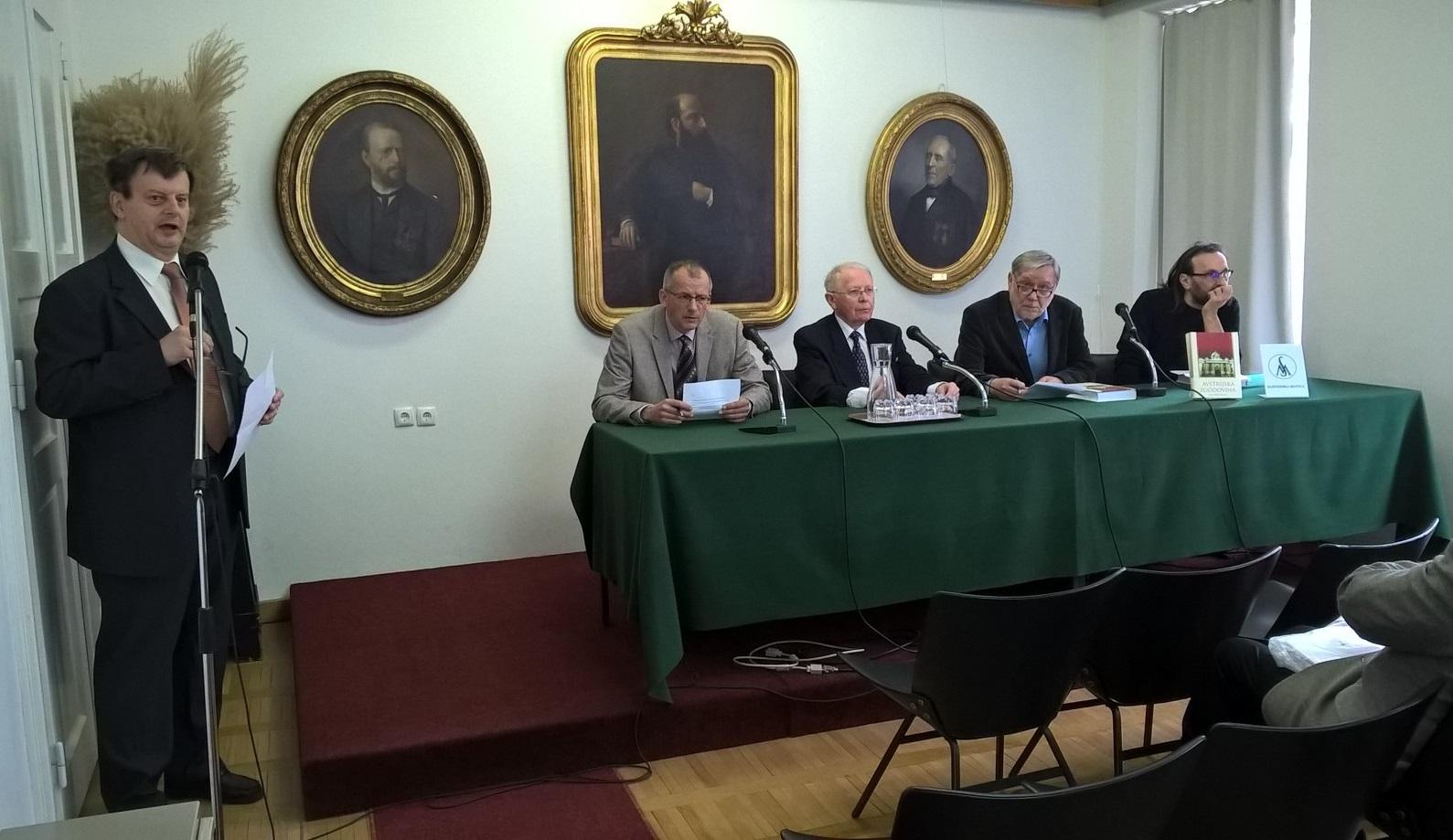 Tiskovna konferenca - Predstavitev knjige Avstrijska zgodovina