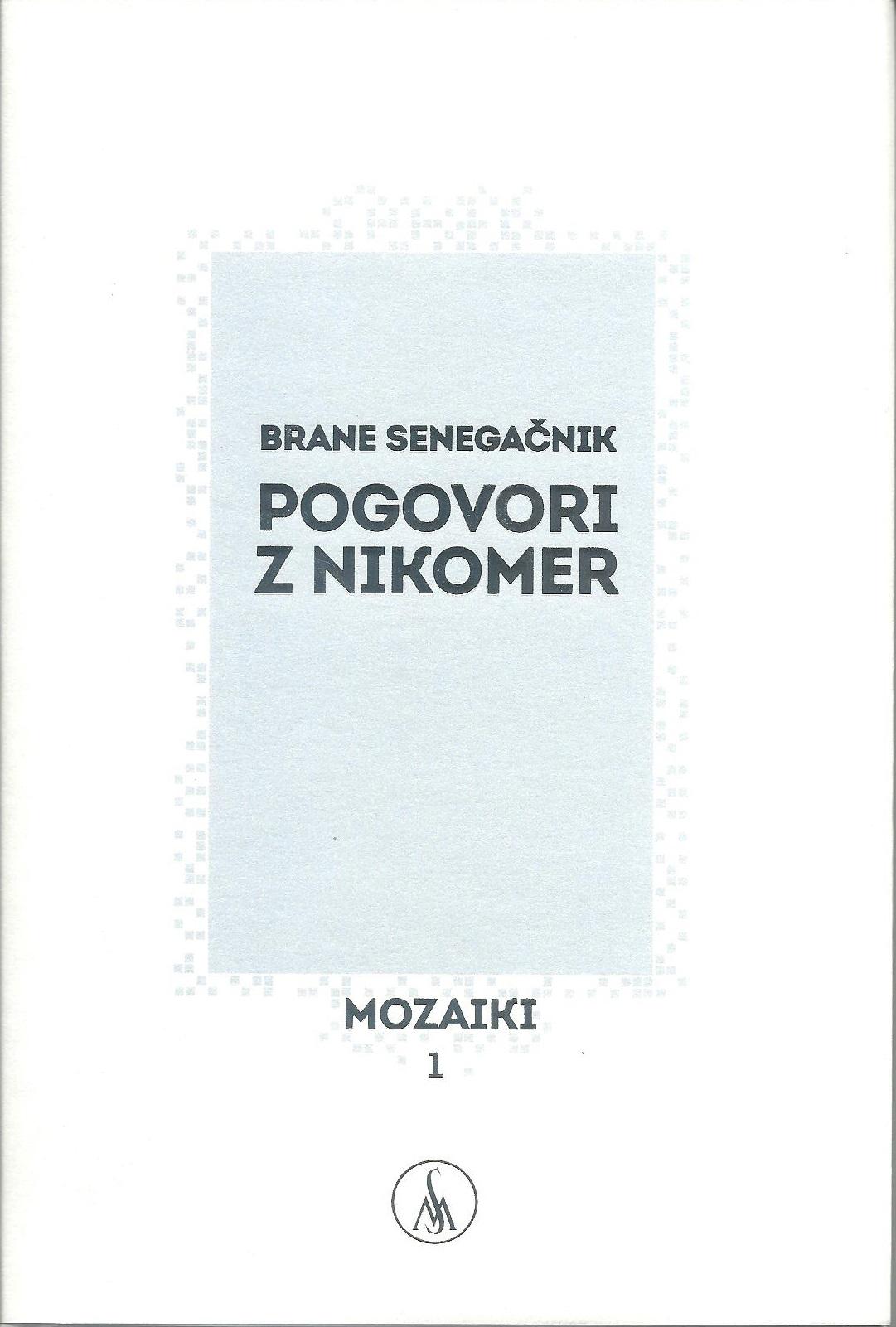 Literarni večer z Branetom Senegačnikom