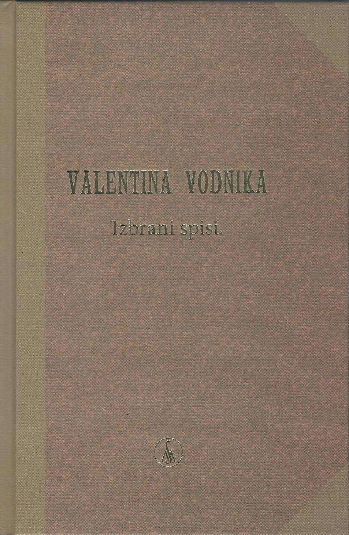 Miklavž Komelj o Izbranih spisih Valentina Vodnika