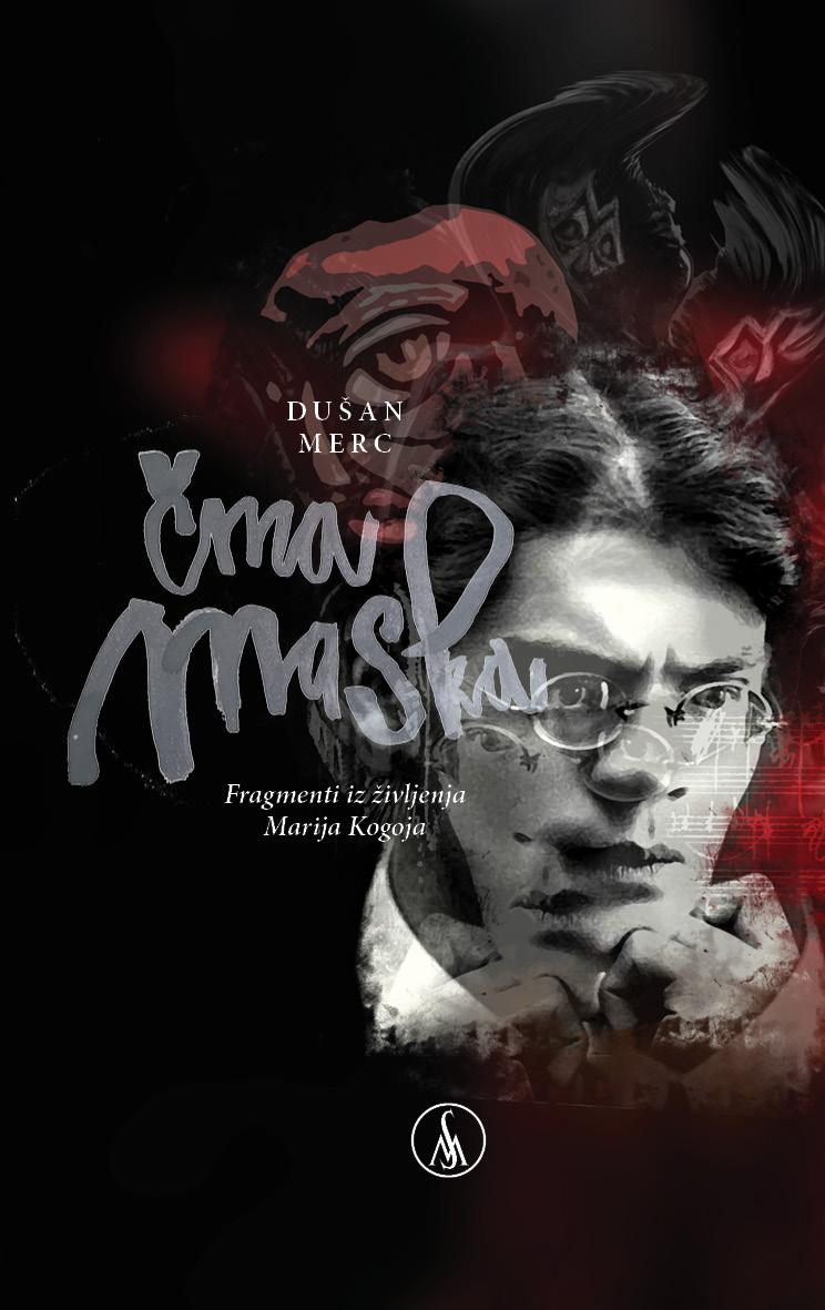 Predstavitev romana Dušana Merca Črna maska